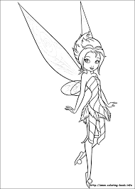 coloring dazzling tinkerbell color coloring