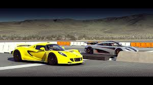 koenigsegg one forza 6 koenigsegg one 1 vs hennessey venom gt drag race youtube