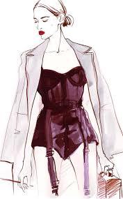 alena lavdovskaya fashion illustration on artluxe designs