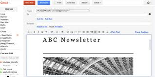 how to create and send email newsletter for free hongkiat