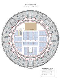 at t center floor plan arena seating neal s blaisdell center u0026 waikiki shell