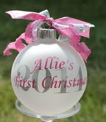 personalized christmas ornaments baby babys christmas ornament chritsmas decor