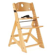 Infant High Chair Keekaroo Height Right Kids Chair Natural Walmart Com