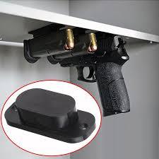 sous le bureau 1 pcs magnétique caché titulaire pistolet pistolet holster sous le