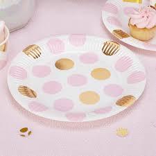 vaisselle jetable fete vaisselle jetable bapteme décorer le bonheur