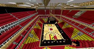 Oracle Arena Map Minecraft Let U0027s Walk 1 To A Basketball Arena Youtube