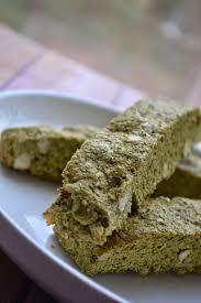 biscotti baby shower green tea almond biscotti