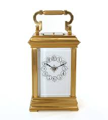 antique carriage clocks the uk u0027s premier antiques portal