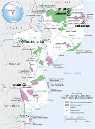 Mozambique Map Mozambique For The Discriminating Sportsmen And Women Who Demand