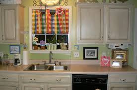 Painted Kitchen Cabinets Images by Decorating Paint Kitchen Cabinets With Target Kitchen Curtains