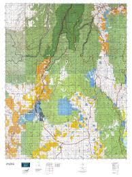 Idaho On Map Idaho Gmu 22 Map Mytopo