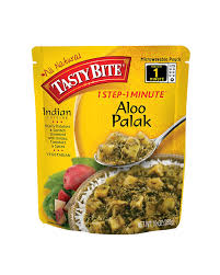 amazon com tasty bite indian entrée aloo palak 10 ounce pack