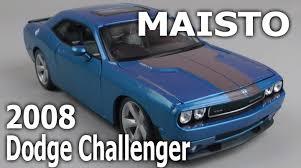 Dodge Challenger 2008 - демонстрация maisto dodge challenger 2008 1 24 youtube