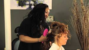 how to do saloon hair styles for long hair youtube