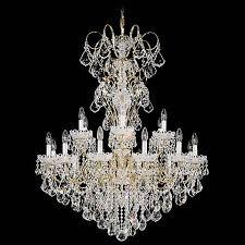 Swarovski Crystals Chandelier Schonbek New Orleans 36
