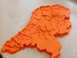 netherlands height map netherlands topographic 3d map makeredchallenge 2 0 by barleon