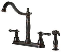 premier kitchen faucets black kitchen faucet with sprayer for premier rubbed bronze