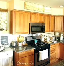 Top Of Kitchen Cabinet Ideas Top Kitchen Cabinet Colors Thelodge Club