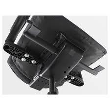 Ikea Office Chair Grey Volmar Swivel Chair With Armrests Black Ikea
