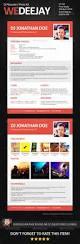 Dj Resume Resume Cv Cover Letter by Wedeejay Dj Resume Press Kit By Vinyljunkie Graphicriver