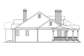 Georgian Architecture House Plans by Country House Plans Greenbriar 10 401 Associated Designs