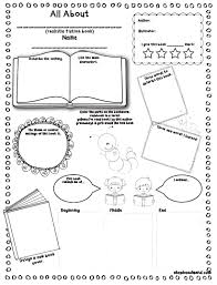 fiction book report template book report template for children
