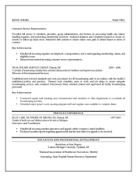 Resume For Customer Service Rep Clinical Specialist Resume Dsa Issuelab Inventory Control