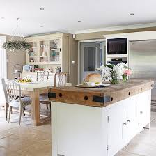 ideas for kitchen diners open plan kitchen design ideas ideal home