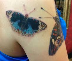 3rd butterfly tattoo of 4 these are my personal tattoos