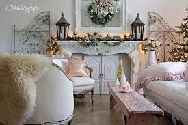 Home Decor In French Easy Ways To Change Christmas Decor In A Room Shabbyfufu