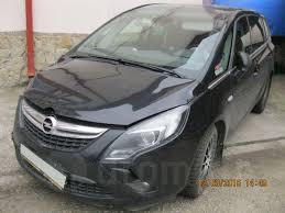 опель зафира 2013 в краснодаре Opel Zafira Tourer с 2013 черный