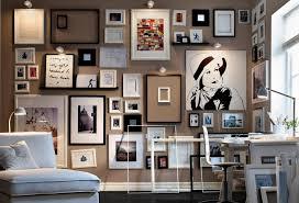 wandgestaltung mit fotos wandgestaltung mit bildern im wohnzimmer 25 ideen