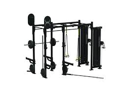 14 x 4 wall mounted weight training station with storage x1 package