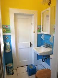 Monkey Bathroom Ideas by Little Kids U0027 Bathroom Spongebob Metal Wastebasket New House