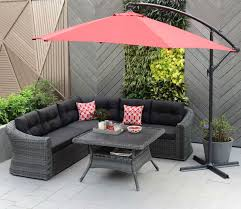 Outdoor Furniture Toronto by Beautiful Patio Umbrellas Canada Offset In Brown And With