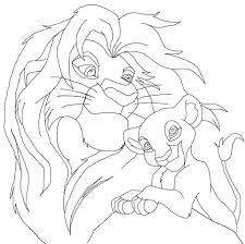 223 coloring pages images lion king