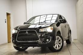 mitsubishi outlander sport 2014 red 2014 mitsubishi outlander sport se stock 028141 for sale near