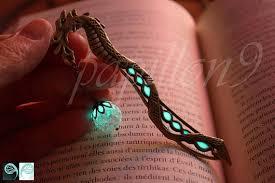 glow in the dark l dragon bookmark glow in the dark bookmark glow in the dark