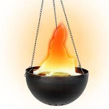 spirit halloween clearance amazon com hanging fiery pot home u0026 kitchen