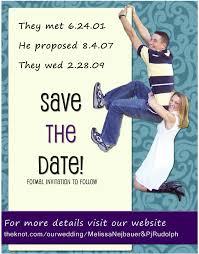 Funny Save The Date Save The Date Invite Design U2013 Creative Melissa Designs