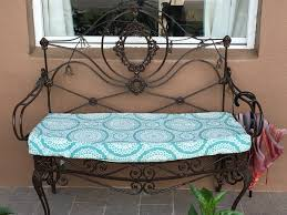 Wrought Iron Bench Seat Bench Seat Re Cover U2013 Sarcocracy