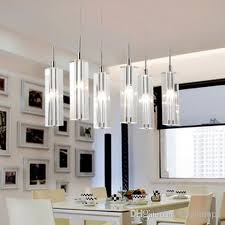 led dining room lighting 6 led lights dining room crystal pendant l european staircase
