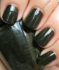 opi spain swatches dark green nails green nail and opi