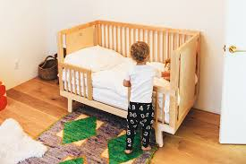 Bed Crib Transitioning To Toddler Bed
