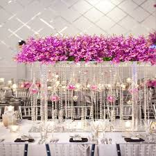 shabby chic wedding centerpieces with crystal google search