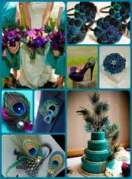 peacock wedding theme peacock wedding cake with sparkley tablecloth the most