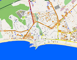 Girona Spain Map by Large Benidorm Maps For Free Download And Print High Resolution