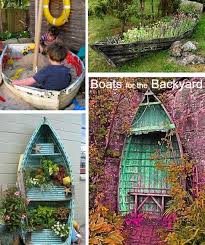 Backyard Decor Ideas What Rocks Your Boat Nautical Backyard And Garden Decor Ideas