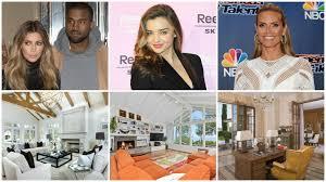 Kim Kardashian Home Interior Celebrity Real Estate Kim Kardashian Miranda Kerr And Heidi Klum