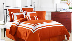 Coral Bedspread Bedding Set Awesome Orange And Grey Bedding Sets Port Lucie